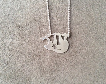 sterling silver Ate Series sloth