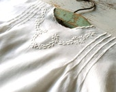 Edwardian Era Embroidered White Baby Dress Approx. Size 2 Years