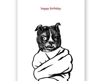 Crazy Bitch Birthday Card