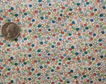 Kathy Hall, Ooh La La Dots Color T OOP Fabric - Half Yard