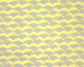 Japanese Fabric Waves - yellow