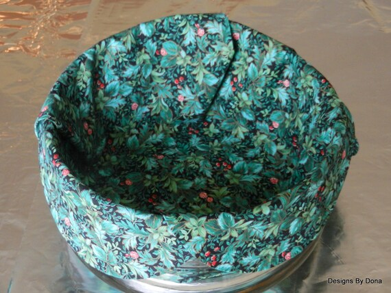 Basket liner bread cloth table topper centerpiece small