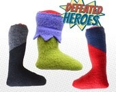 Batman / Superman / Hulk / Defeated Heroes Catnip Toy Kit / Severed Leg Catnip Toy / Handmade Cat Toy / Super Heroes
