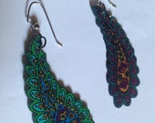 Mismatched Paisley Earrings