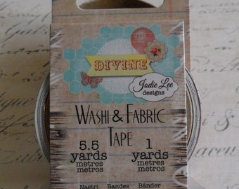 Prima : Jodie Lee Divine Collection Washi & Fabric Tape Set