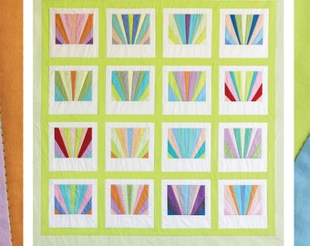 Carolyn Friedlander PATTERN - The Sunrise Quilt