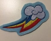 Rainbow Dash Cutie Mark Patch