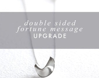 double sided message upgrade