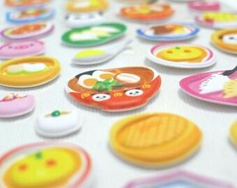 Kawaii Puffy Japanese Sticker - Yummy Food - Panda Chef (1304) by Mind Wave Inc.