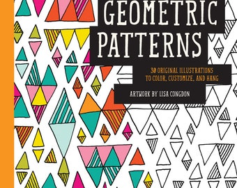 Geometric Patterns Coloring Book