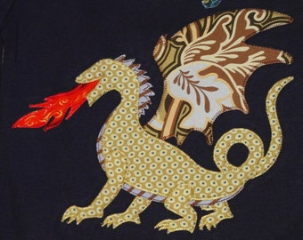 Personalized Dragon Top, Dragon Party, Kids Dragon Top, Camp Shirt, Medieval Party, Medieval Dragon Shirt, Dragon Gift, Dragon Shirt