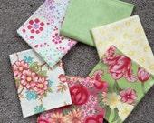 Fabric Destash no. 128 -- 6 Fat Quarters
