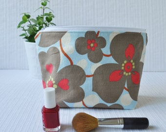 6 x 9 Zippered Pouch - Morning Glory