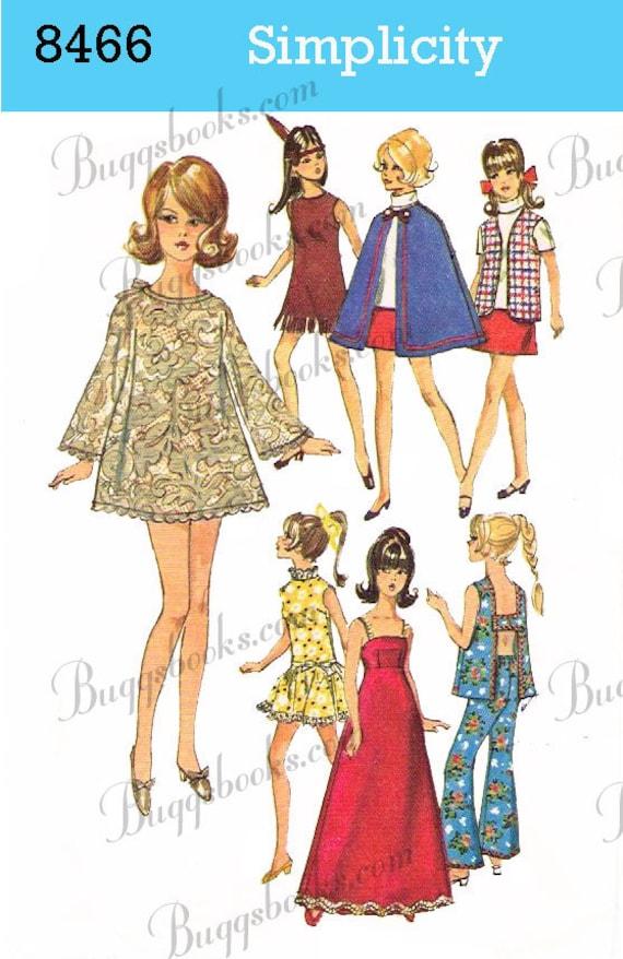 barbie doll sewing patterns pdf