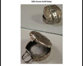 Gold Inlay Hat Box Tutorial