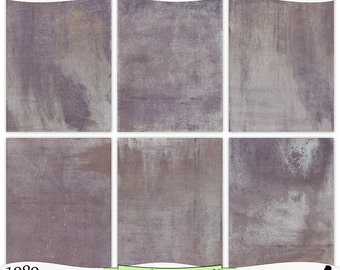 Shabby Brown Purple Taupe Painted Printable Papers Instant Download Set of 6 - 8.5 x 11 inch Digital Prints JPEG & PDF Commercial Use 1989
