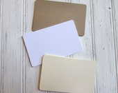 Escort Cards, Blank Place Card, Wedding Escort Cards, DIY Wedding Escort Tags, Flat Escort Cards, Gift Enclosure Cards, Blank Cards, E001