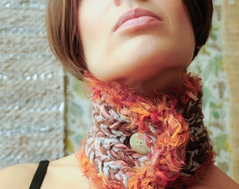 Phoenix Bird Neckwarmer