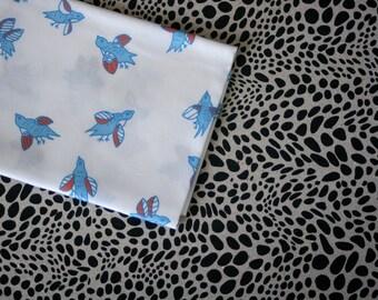 Cloud Bird Fabric - Small Piece