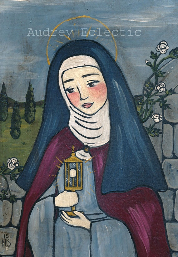 Catholic Folk Art from Audrey Eclectic