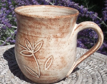 Mug in Creamy Colorado Glaze  - Set of Two Available - See shop for more handmade pottery