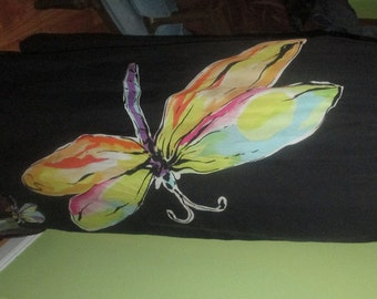 The Most Adorable Silk Dragonfly Print Skirt - Fit for a Fashionista