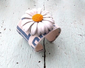 Ecofriendly Cuff - Daisy and Grainsack