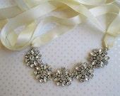 Wedding Headband, Crystal Headband, bridal head Piece, silver hairpiece, crystal hairband, wedding hair vine, tiara, bridal headbands