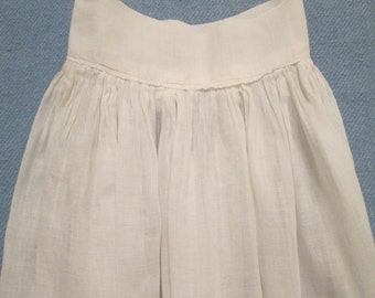 Vintage/ Antique Baby Clothes - Sheer White Batiste Slip - Early 1900s