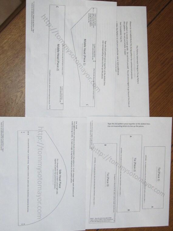 pdf sew pattern petitpoix designer doo rag pattern from petitpoix on etsy studio