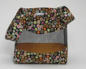 Wild Onion Japanese Knot Project Bag Modern Knitting Crochet Fabric Mesh