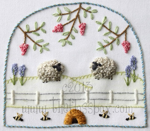 Back Stitch Embroidery Instructions