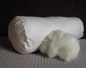 Pure Wool Pillow Inserts, Bolster Pillows, Organic Cotton Cover, Pillow Forms, Cushion Insert, Canada