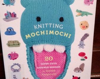 Knitting Mochimochi, 20 Super-Cute Strange Designs for Knitted Amigurumi-FREE SHIPPING!
