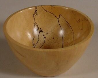 Spalted Tamarind Wood Bowl Wooden Bowl Number 5862