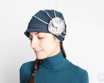 Sun hat Womens Hat Stylish Hat Women Accessories Summer Hat Winter Hat For Women Gift for her Women Blue Hat Fullcover Hat Women Cotton Hat
