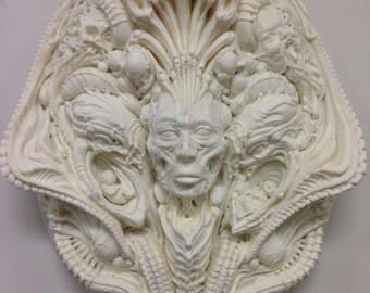 Cosmic Void: White Unpainted Resin