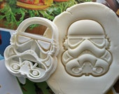 Star Wars Stormtrooper Cookie Cutter / Made From Biodegradable Material / Brand New / Party Favor / Kids Birthday / Baby Shower / Cake Topp