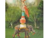 The Infallible Tippy Gordon.  Art Print