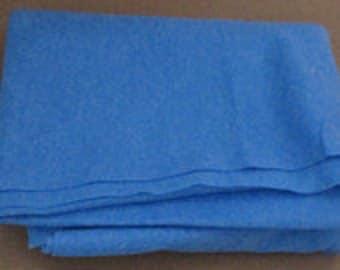 Blue Felt, Felt, Acrylic Felt, Craft Felt, Crafting Felt, Sewing Felt, Thick Felt, 2 mm Felt One Half Yard SF208