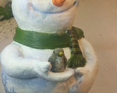 Davy Snowman figure Decoration Winter Christmas