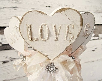 Shabby Chic Wedding Decor, Vintage Wedding Decor, Rustic Chic Wedding Decor, Wedding Centerpiece, Bridal Shower Favors, Wedding Shower Decor