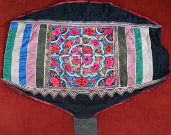Textiles -  Hmong fabric / Hmong costume/ Miao fabric / Hmong embroidery panels - 1047