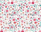 Sale fabric, Recollection fabric, Fabric by the yard by Katarina Roccella, Art Gallery- Bullion Fronds Carnation- Fat Quarter to Yardage