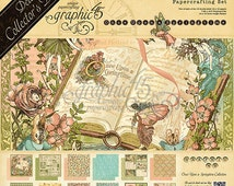 Graphic 45 Deluxe Collector's Edition Once Upon a Springtime 12x12 Paper Pack