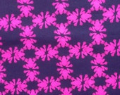 """lilly pulitzer's navy get hoppy textured cotton fabric square 18""""x18"""""""