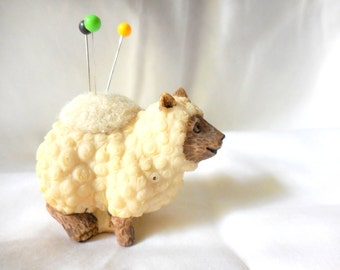 Cute Tiny Sheep Pin Cushion