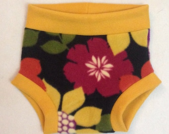 Fall Colors Fleece Diaper Cover