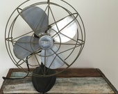 vintage wizard electric table fan - 1940s