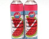 Fresh Picked Watermelon 8 Oz. Body Wash Bubble Bath Shower Gel Bubble Me Up! Handmade by Bubble Girl Soap Co.